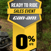 Can-Am Spring Ready To Ride Sales Event